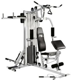 Christopeit Hantelbank Test - Fitnesstation Profi Center XL im Test