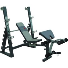 AsVIVA Olympic Hantelbank Multi Bench Test